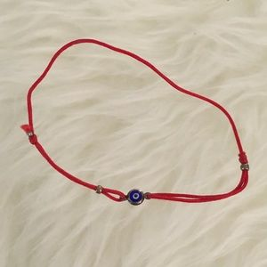 Jewelry - EYE BRACELET ON RED STRING